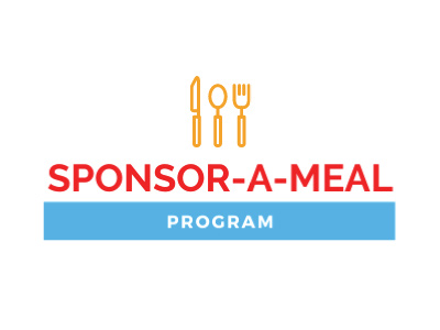 sponsor a meal program with illustrated dinnerware set