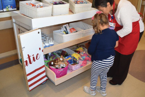 Katie's Kart at Lovelace Women's Hospital is launched, offering snacks, toiletries, toys, and other small comforts to families and children