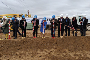 groundbreaking at a second New Mexico Ronald McDonald House at Highlands, located south of Presbyterian Hospital